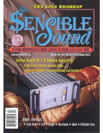 the sensible sound - Usher Audio