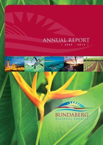 ANNUAL REPORT - Bundaberg Regional Council - Queensland ...
