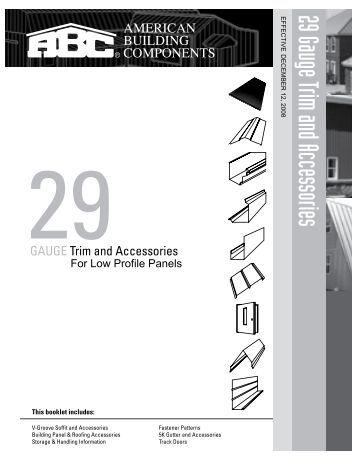 5v crimp manual american building components. Black Bedroom Furniture Sets. Home Design Ideas