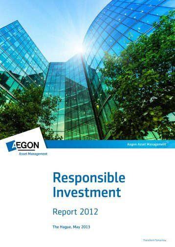 Responsible Investment Report - Aegoncapital.ca