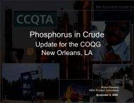 Phosphorus in Crude - Coqa-inc.org