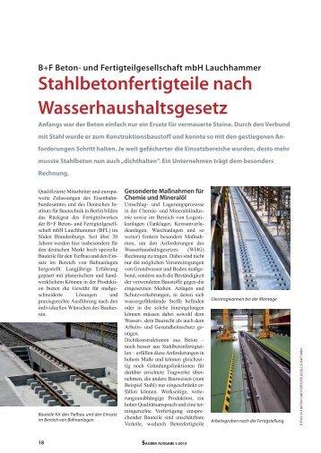 Download Artikel Bautechnik 2013 - B+F Beton- und ...