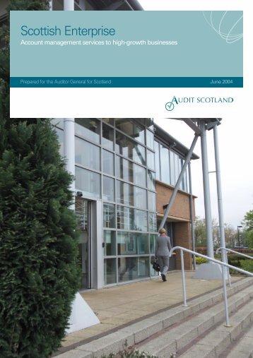 Scottish Enterprise: Account management services - Audit Scotland