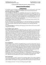 Arbeitsgemeinschaft im Bürgerlichen Recht für Anfänger II im SS 04
