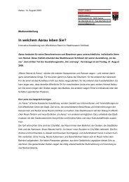 Medientext Im Aarau_lang - Stadtmuseum Schlössli Aarau