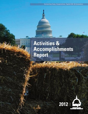 2012 Report - National Milk Producers Federation