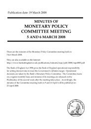 Minutes of the Monetary Policy Committee Meeting held on 5 and 6 ...