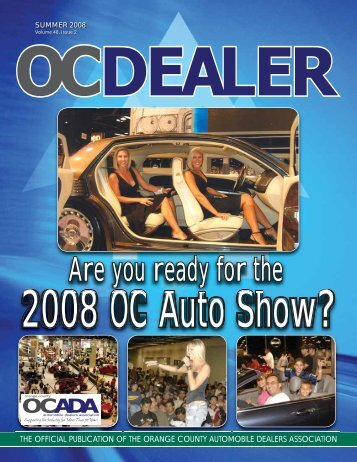 Are you ready for the - Orange County Automobile Dealers Association