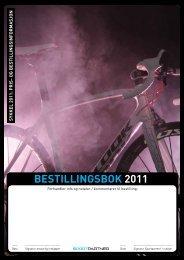 BESTILLINGSBOK 2011 - Sportpartner