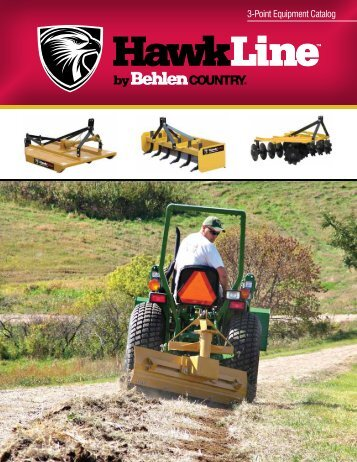 3-Point Equipment Catalog - HawkLine