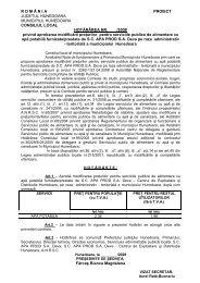 proiectul de hotarare 4 / 2008 - Primaria Municipiului Hunedoara