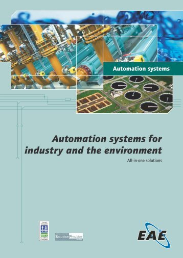 Automation systems for industry and the environment