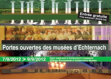 Portes ouvertes des musées d'Echternach