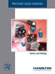Valves and Fittings Catalog - Hamilton