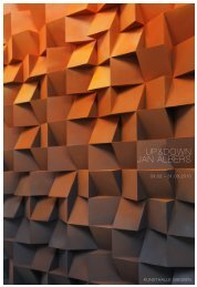 Up&Down; Jan albers - Kunsthalle Gießen