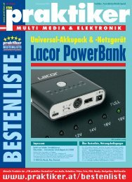 Lacor PowerBank: Universal-Akkupack ... - HOME praktiker.at