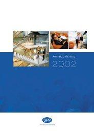 Årsredovisning 2002 - SPP