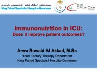 Immunonutrition In ICU: Does It Improve Patient ... - RM Solutions