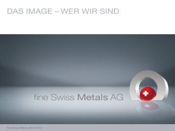 DAS IMAGE – WER WIR SIND - fine-swiss.ch