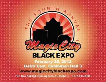 Download the 2012 Exhibitor Packet - Magic City Black Expo