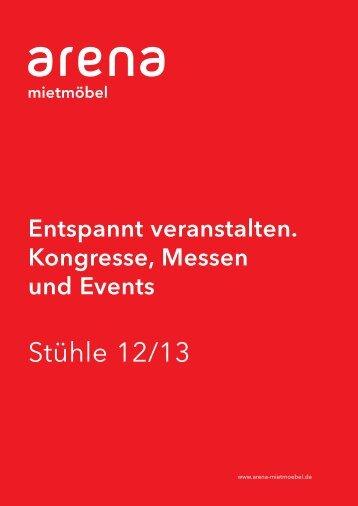 Stühle 12/13 - Arena Mietmöbel