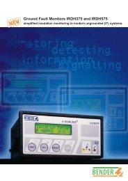 IRDH375 Brochure in PDF format - Bender