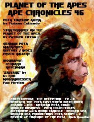 Ape Chronicles #046 - Hunter's Planet of the Apes Archive - Goatley ...