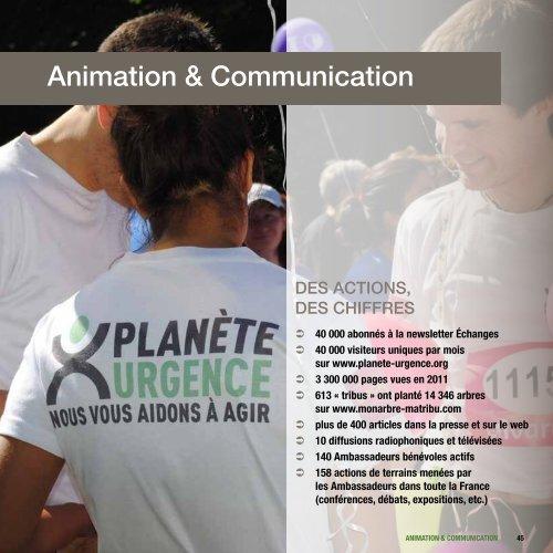 Animation & Communication - Planète Urgence