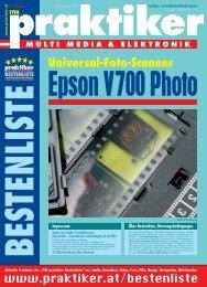 Epson V700 Photo: Universal-Foto-Scanner ... - HOME praktiker.at