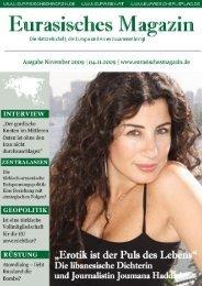 Eurasisches Magazin – November 2009 · Seite 1 © Eurasischer ...