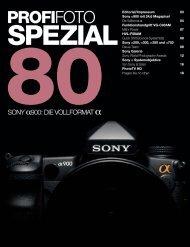 80sony spezial - Profifoto