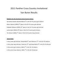 Van Buren High School Alm