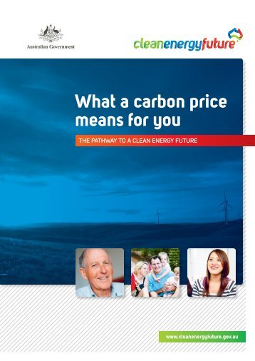 What a carbon price means for you - Clean Energy Future