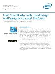 Microsoft System Center Virtual Machine Manager Self-Service - Intel