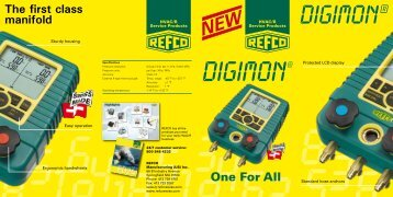 One For All The first class manifold - Refco Manufacturing Ltd.