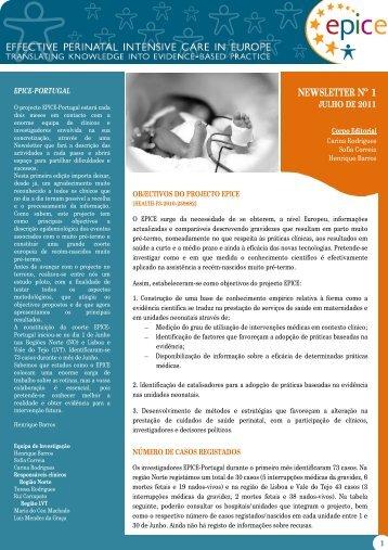 EPICE - Portugal nº 1 - ispup - Universidade do Porto