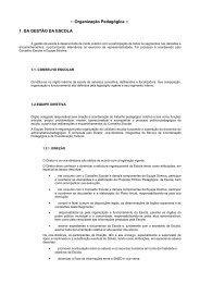 Organização Pedagógica - Prefeitura Municipal de Porto Alegre