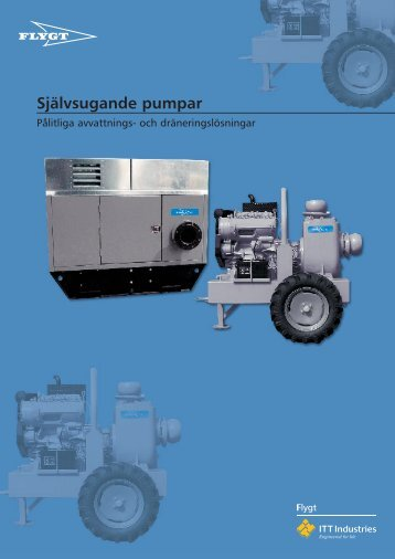 Självsugande pumpar - Water Solutions