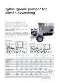 Självsugande pumpar - Water Solutions - Page 3