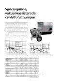 Självsugande pumpar - Water Solutions - Page 4