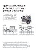 Självsugande pumpar - Water Solutions - Page 5