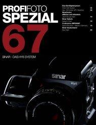 67sinar spezial - Profifoto