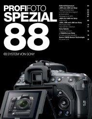 88SONY SPEZIAL - Profifoto