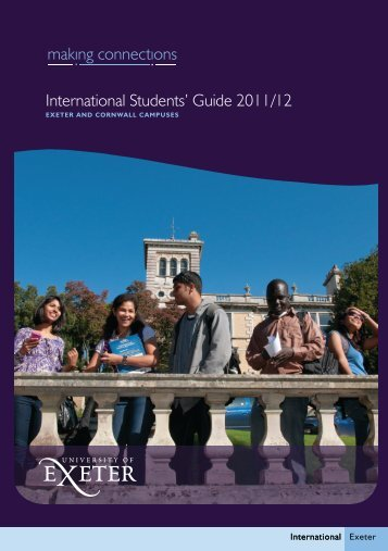 International Students - Academic Services - University of Exeter