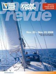 Nov. 20 – Nov. 23 2008 - Yachtrevue