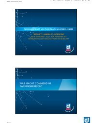 POWERPOINT TEMPLATE - Parkomatic AG