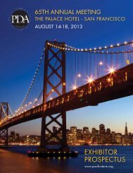Exhibitor ProsPEctus - Pacific Dermatologic Association