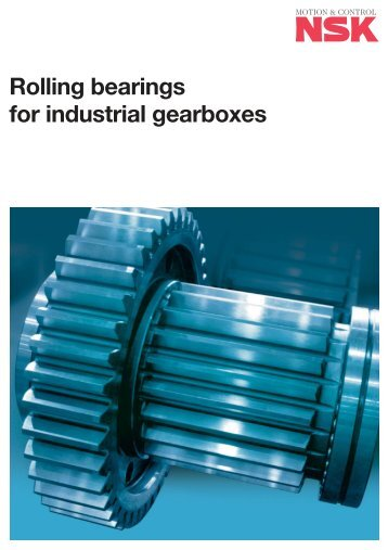 Rolling bearings for industrial gearboxes - Coroll SK
