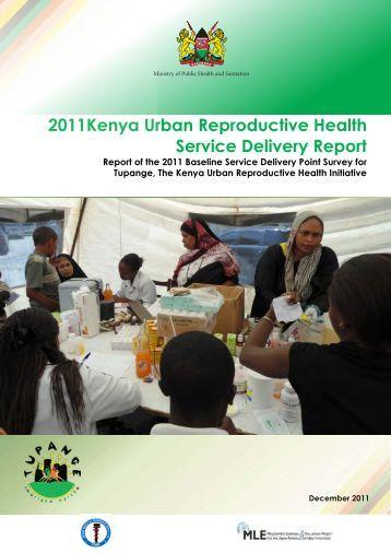 Kenya KSDP Report - Measurement, Learning & Evaluation Project