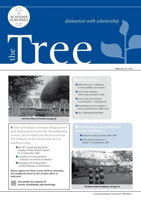 The Tree 22 - Academia Europaea